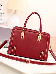 Handcee® Hot Selling Simple Style PU Woman Cheap Shoulder Bag