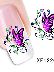 SISSE-Fashion Water Transfer Printing Nail Stickers
