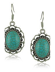 Turquoise stone earrings Green Turquoise Earring Wholesale