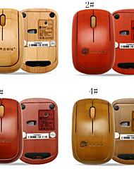 A4Tech buena quanlity bluetooth artesanal ratones ratón de madera