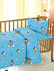 Mickey Mouse Blue Baby Bedding Set in High Quality