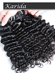 3 pieces/lot Indian Temple Hair Extensions,100% Unprocessed Top Quality Deep Wave Indian Hair