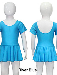 Nylon/Lycra Cap Sleeve Leotard with Skirts More Colors for Girls and Ladies