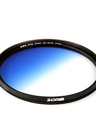 Zomei 55 mm absolvierte schrittweise Farbe Blaufilter