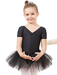 Ballet Dresses&Skirts/Tutus & Skirts/Dresses Children's Performance/Training Spandex/Tulle 1 Piece Kids Dance Costumes