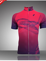 GETMOVING Cycling Jersey Women's Short Sleeve Bike Breathable Moisture Permeability Back Pocket Sweat-wicking Jersey Polo Shirt Tops