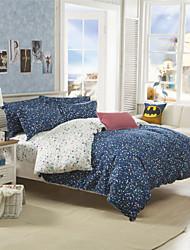 Star Duvet Covers Cotton Blending for Queen Beds