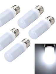 9W E26/E27 LED Mais-Birnen T 56 SMD 5730 800-1000 lm Warmes Weiß / Kühles Weiß AC 220-240 V 5 Stück