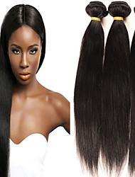 """4 stuks lot 8 """"-30"""" brazilian virgin hair natuurlijke zwarte straight onbewerkte goedkope brazilian menselijk haar bundels"""