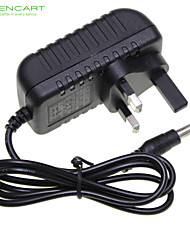 UK Plug 12V 1A LED Strip Light / CCTV Security Camera Monitor Power Supply Adapter DC2.1 AC100-240V