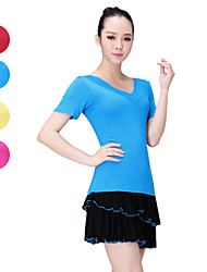 Ballet Tops Women's Performance/Training Modal 1 Piece Blue/Pink/Red/Yellow