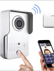Hot Sale Wireless Wifi Door Phone Wide Angle With Remote Controlling APP Support Andriod and IOS