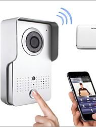 grandangolare vendita calda wifi senza fili citofono con la ripresa di controllo app supporto Andriod e ios