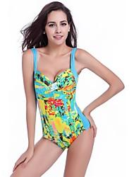 Free Shipping Wholesale Vintage 2015 Twist Bandeau Women Big Swimsuit Plus Size Beachwear Clothes XXXL