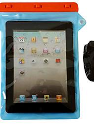 12 pouces ipad air / iPad 2/3/4 boîtier étanche avec correspondance clip abs et bandoulière