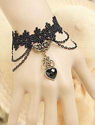 Bijoux Accessoires de Lolita Gothique Doux Lolita Classique/Traditionnelle Punk Wa Marin Rétro Rococo Noir Accessoires Lolita  Lace Pour