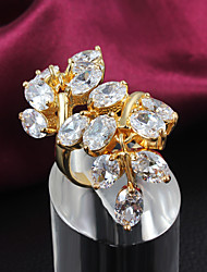 Party Gold Plated Statement Ring Fashion Rings for Women 2015 Big Rings for Women Hottest Fashion