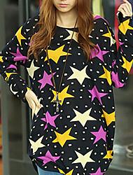 estrellas de las mujeres de color suéter flojo
