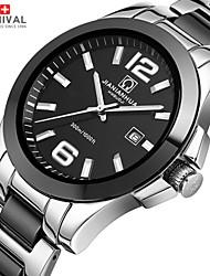 Carnival Watch Kankas Luminous Quartz Watch Waterproof Men Multifunctional Ceramic And Stainless Steel