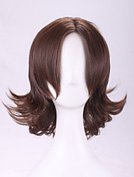 The New 2015 Outside Europe and The United States Sell Like Hot Cakes Shallow Brown Hair Become Warped Wig