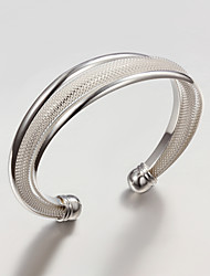 beperkte verkoop party / werk / casual verzilverde manchet armband mooie sieraden