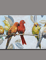 Animal Oil Painting Hand-Painted Wall Art Other Artists Hand-Painted Oil Painting8833-1