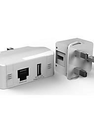 VONETS VRP300 Wireless Mini 300Mbps Wi-Fi AP Repeater 3G Router - White (UK/EU/US Plug)