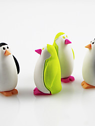 Little Penguin Assemble Rubber Eraser (Random Color)