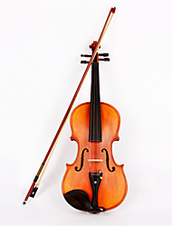 ASTONVILLA 4/4 Spruce Wood Color Matte Wood Violin AV-10