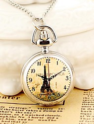 reloj de bolsillo de las señoras / relojes 070 con el reloj de cuarzo analógico