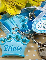 Crown Baby Shower Gift Key Ring Keychain Favor(10.3*5.8*2.1CM)