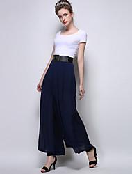 Women's Casual Micro-elastic Translucent Loose Pants (Chiffon) (More Colors)