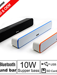 Besteye® Stereo Wireless Bluetooth Power Sound Bar Speakers 2.0 HIFI Portable for Iphone/Samsung