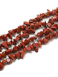 "Beadia Red Jasper Stone Beads 5-8mm Irregular Shape DIY Loose Beads For Making Necklace Bracelet 34""/Str"