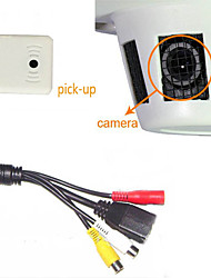 1.0 Megapixel Smoke CCTV Cameras Detector Hidden IP Camera Video Record P2P +Built-In Pick-Up 720P