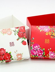 China Wind Peony Wedding Gift (Set Of 24)