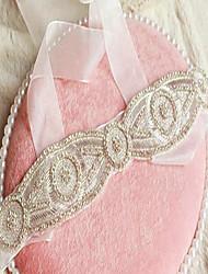 Tulle Wedding Sash With Rhinestone