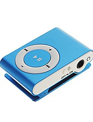 sanshuai® lettore musicale MP3 USB multimediale mini clip di metallo