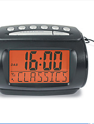 Stereo Digital FM Alarm Clock Small DAB+ Radio Digital Radio