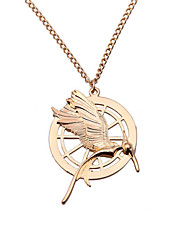 Women's Fashion Jewelry The Hunger Games Vintage/Party/Casual Alloy Mockingjay Pendant Necklace