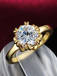 anillo chapado en oro partido comunicado grandes anillos en venta promoción mujeres 2015 productos de venta caliente
