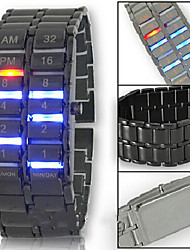 Herrenuhr zweiten Generation LED-Leuchten-Lava-Art (verschiedene Farben)