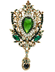 Women's Jewelry Rhinestone FlowerBrooch Broach Pins  (More Colors)