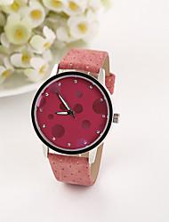 De personalisatie vrouwen mooie dot mode armband horloge