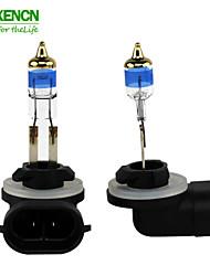 XENCN 881 12V 27W 5000K Emark TELEEYE INTENSE LIGHT Replace Upgrade Halogen Car Bulbs Fog Lamp