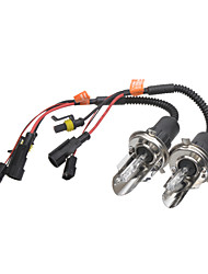 H4 35W 6000K HID Xenon Lamp with Wiring Harness Controller