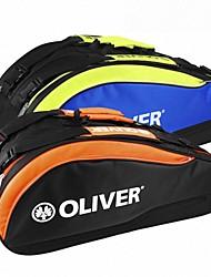 azul naranja ocio mochila raqueta de bádminton línea de bolsas concepto / multifunción