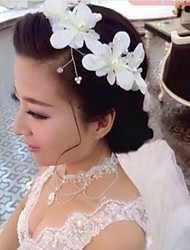 Women's Alloy/Imitation Pearl Wedding/Party Jewelry Set With Imitation Pearl/Rhinestone