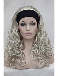 """3/4 nouvelle perruque avec bandeau 24 """"demi-perruques'S longs bouclés femmes ab102"""