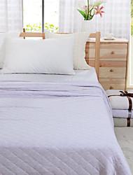 patchwork quilt rei roxo verão 100% algodão